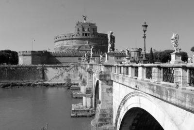 Rome in Black + White