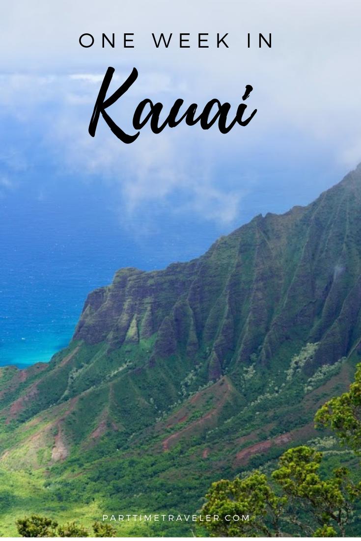 one week in kauai itinerary. things to do in kauai, where to stay in kauai, a map of kauai, and more!