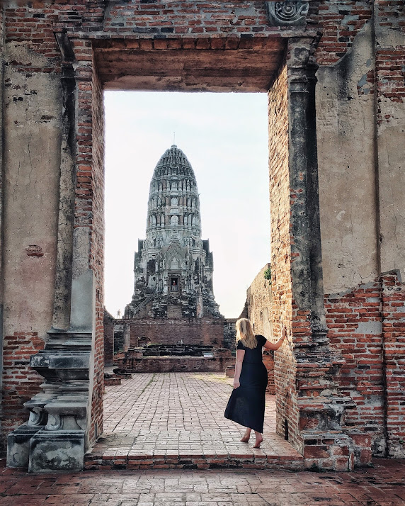 best spot to photograph ayutthaya