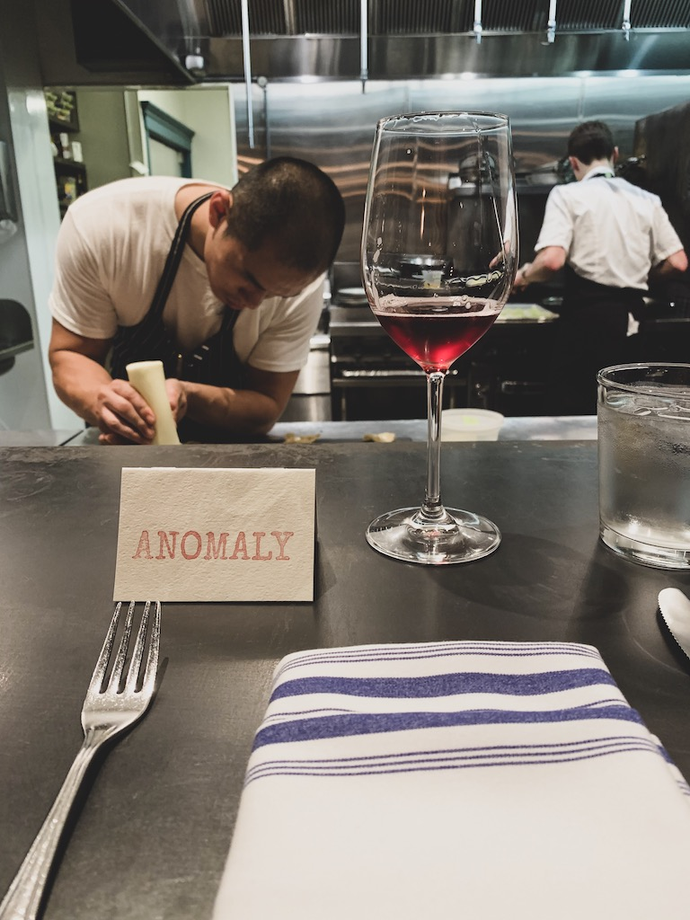 Anomaly - pop-up dinner in San Francisco