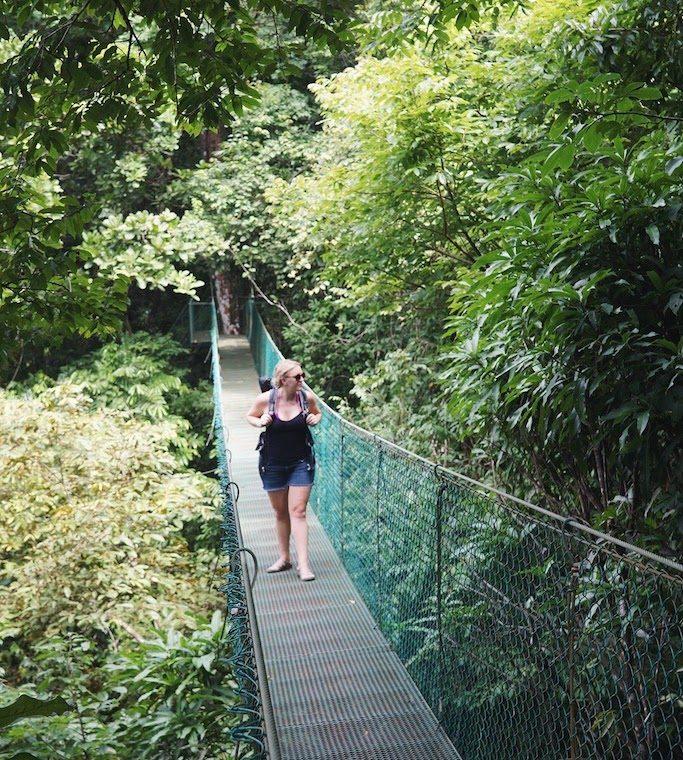 hiking in cloud forest costa rica