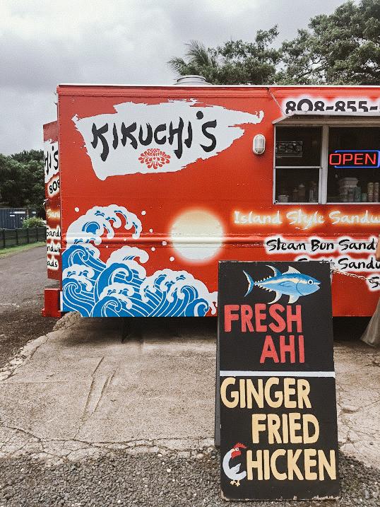 Kikuchi's: Kauai's best food truck