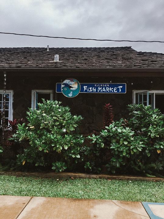 Kilaeua Fish Market