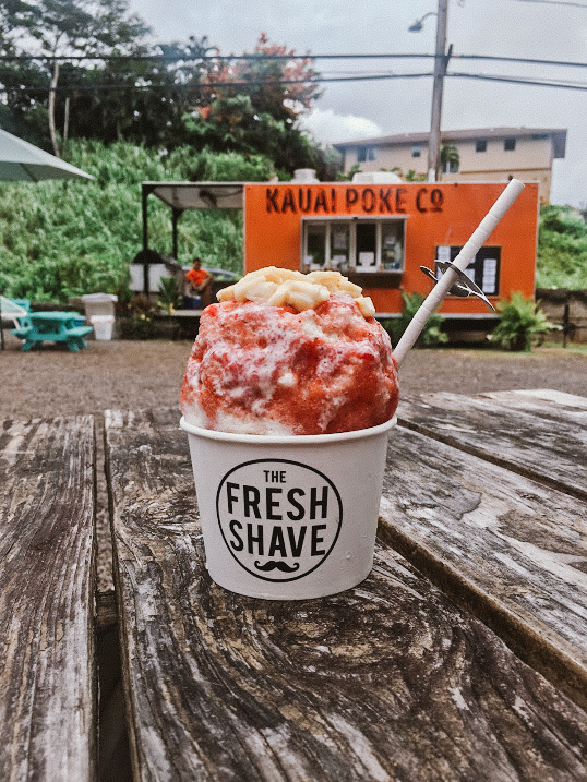 fresh shave ice kauai