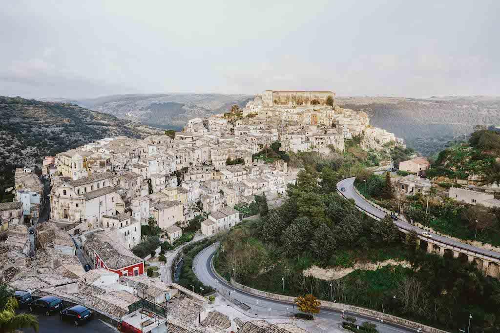 Ragusa Ibla View