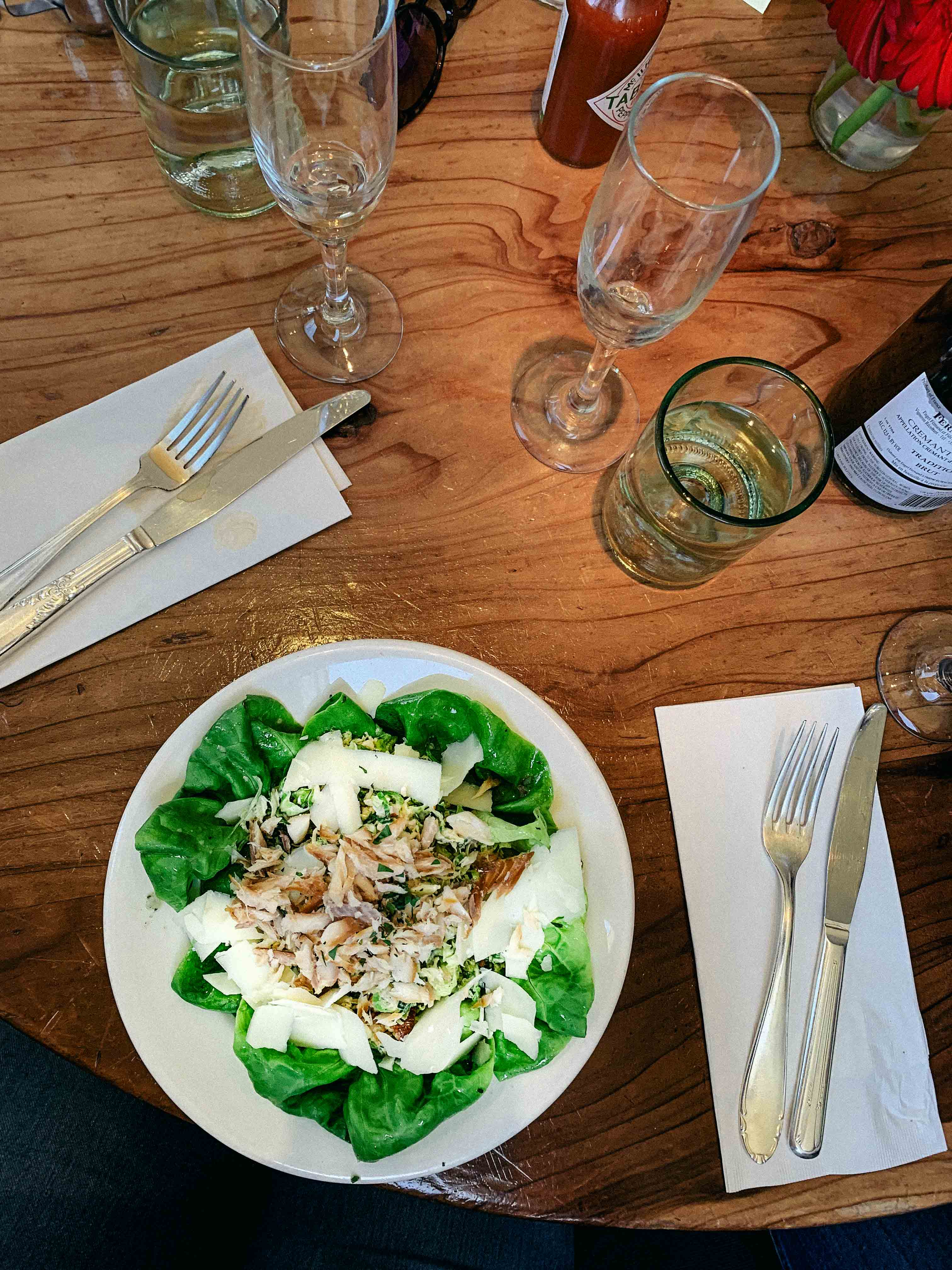 Revelry Bistro SF salad