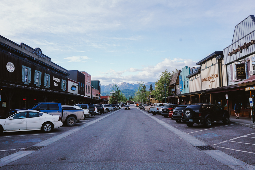 Downtown Whitefish MT